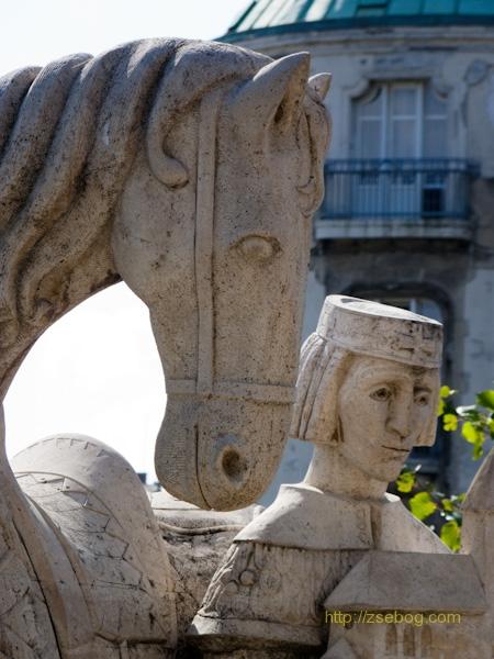 Szent István király szobor