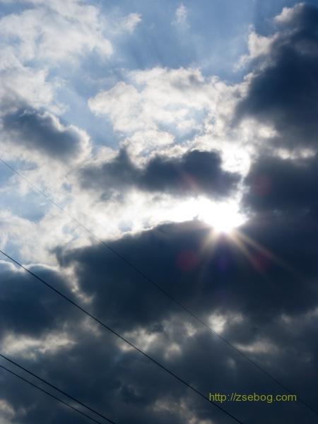Felhős égbolt